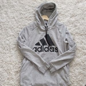 Adidas Training Hoodie in Gray
